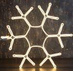 """Светодиодная фигура из неона """"Снежинка"""" 0,6х0,6м"""