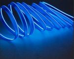 Неоновая нить для подсветки салона автомобиля с адаптером