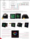 Контроллер (сенсорная панель) для управления светодиодной лентой RGB Premium