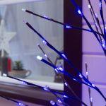 Светодиодное дерево 1,5м с мерцанием Синий