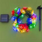 Гирлянда на солнечной батарее Лилии 4,5м
