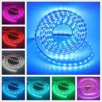 Светодиодная лента 220Вольт RGB 60Led 14.4Вт