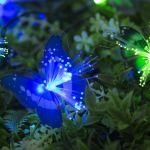 Гирлянда на солнечной батарее Бабочки 4,5м