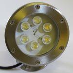 Подводный светодиодный прожектор 6 Вт, 12V RGB