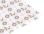Светодиодный лист для равномерной засветки Желтый