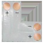 Гибкая соединительная плата L-образная для ленты SMD5050