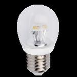 """Светодиодная лампа """"прозрачный шар"""" 4.2Вт"""