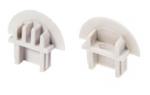 Комплект заглушек для врезного профиля Micro