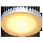 Светодиодная лампа GX53 матовое стекло Золотистая 6Вт