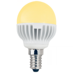 Светодиодная лампа-шар G45 Золотистая 5.4Вт Е14