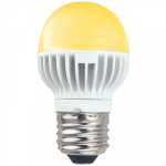 Светодиодная лампа-шар G45 Золотистая 4.2Вт Е27