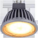 Светодиодная лампа MR16 матовое стекло Золотистая 4.2Вт