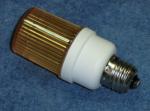 Строб лампа ксеноновая с цоколем Е27 Желтый