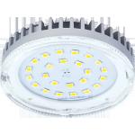 Лампа светодиодная GX53 6Вт прозрачная с радиатором