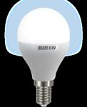 """Светодиодная лампа """"шар"""" 6Вт Lux"""