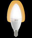 """Светодиодная лампа """"свеча"""" 6Вт Lux"""
