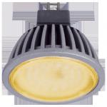 Светодиодная лампа MR16 матовое стекло Золотистая 7Вт