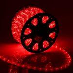 2-х жильный дюралайт круглого сечения Красный