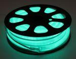 Комплект гибкий светодиодный неон 10м с сетевым шнуром Зеленый