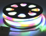Комплект гибкий светодиодный неон 20м с сетевым шнуром Мульти