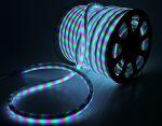 Комплект гибкий светодиодный неон 50м с сетевым шнуром Мульти