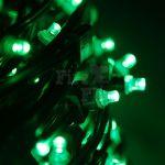 Гирлянда для деревьев КЛИП-ЛАЙТ 100м (с трансформатором) Зеленый