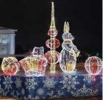 """Светодиодная композиция """"Новогодние игрушки"""""""