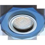 Встраиваемый светильник MR16 DL1652 8-угольник с прямыми гранями