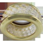 Встраиваемый светильник с хрусталиками (3 ряда) MR16 DL1655