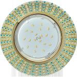 Потолочный декоративный светильник GX53 Круг со стразами