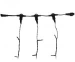 Гирлянда для деревьев СПАЙДЕР 60м без динамики Эконом