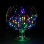 """Влагозащищенная Светодиодная гирлянда-нить """"Твинкл"""" 20м RGB"""