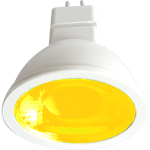 Лампа светодиодная GU5.3 цветная 4.2Вт