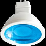 Лампа светодиодная GU5.3 цветная 9Вт