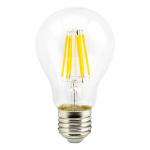 Светодиодная филаментная (нитевидная) лампа Е27 8Вт