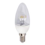 """Светодиодная лампа """"свеча искристая"""" 4,2Вт Е14"""