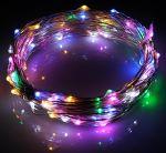 Светодиодная гирлянда Роса 12Вольт 10м RGB