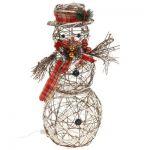 """Фигура деревянная """"Снеговик средний"""" без динамики"""