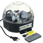 """Световой проектор """"Радужный шар"""" 17,5см с музыкой и Bluetooth"""