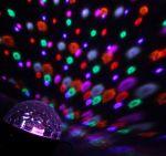 """Световой проектор """"Хрустальный шар"""" 17,5см с музыкой и Bluetooth"""