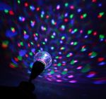 """Лампа-проектор  """"Хрустальный шар"""" с подвесом"""