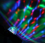 """Световой проектор """"Хрустальный шар"""" с музыкой"""