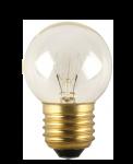"Лампа накаливания ""шар"" прозрачная 10Вт Е27"