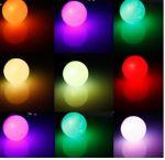 "Светодиодная лампа ""Шар"" 1Вт Е27 45мм RGB"