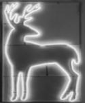"""Светодиодная фигура из неона """"Олень"""" 1,19х1,96 м"""