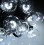 Влагозащищенная гирлянда Белт-лайт на Черном проводе со светодиодными лампами