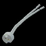 Патрон GU5.3 керамический с проводами