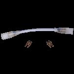 Гибкий соединитель для 2-х контактной ленты 12x7мм 220V