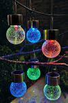 """Гирлянда на солнечной батарее """"Подвесной шар"""" RGB"""