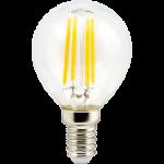 Светодиодная филаментная (нитевидная) лампа Е14 6Вт Premium